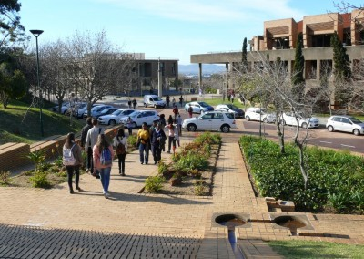 UCT Cross Campus Steps, Walkways, Roads and Parking Areas 1987