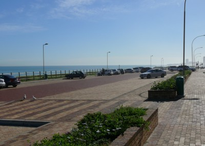 Blouberg Beach parking area