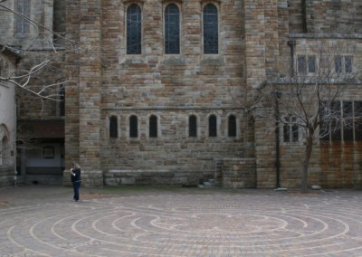 st Georges Cathedral Labyrinth
