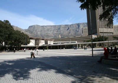 Cape Town Station Forecourt 2010